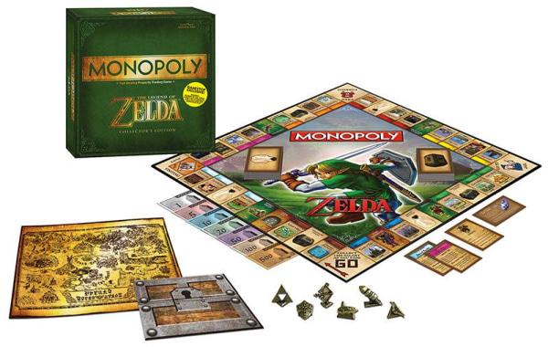 Legend of Zelda Monopoly