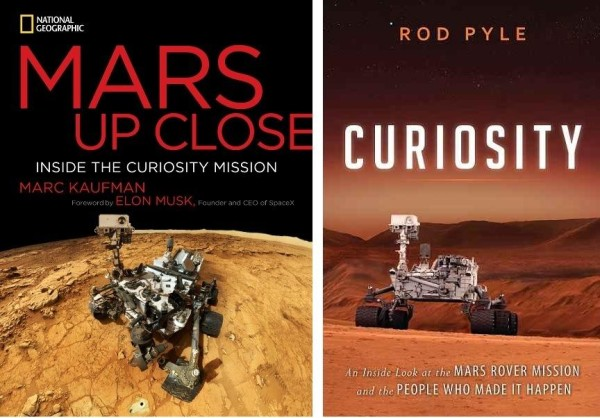 """Image: """"Mars Up Close"""" and """"Curiosity"""""""
