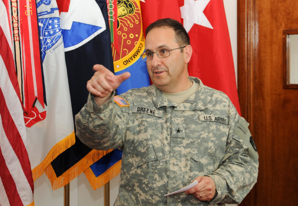 Image: Maj. Gen. Harold Green in 2011