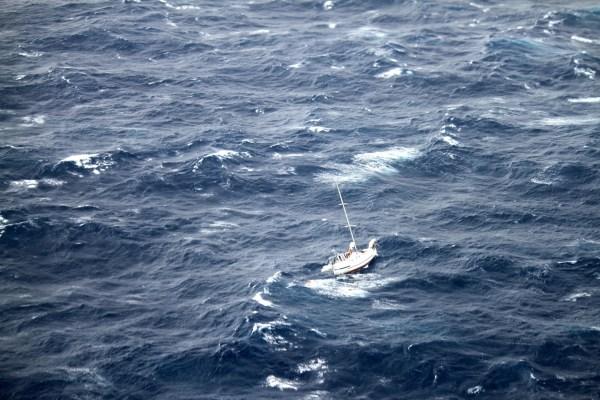 Rescue underway for sailboat caught in Hurricane Julio