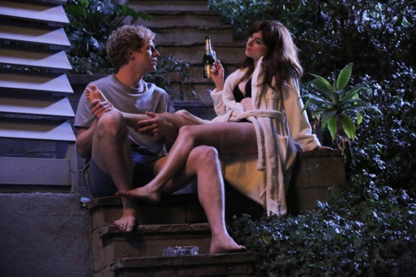 Image: Chris Geere as Jimmy Shive-Overly, Aya Cash as Gretchen Cutler in 'You're the Worst'