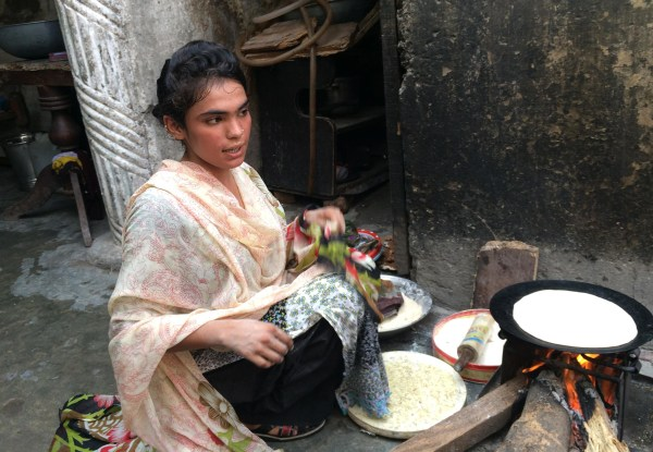 "Image: Fazeela Bibi, 17, is a resident of the Christian ""100 Quarters"" slum"