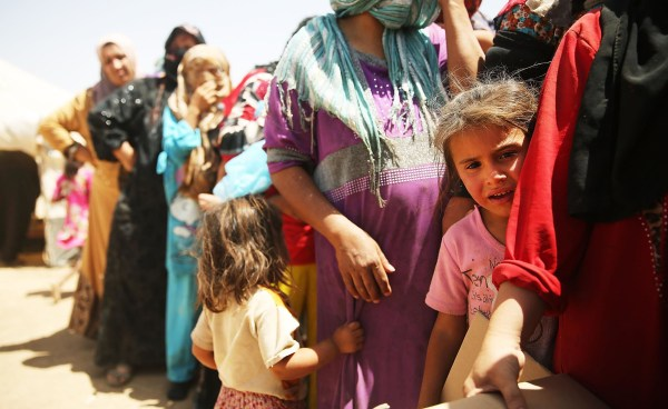 Image: Refugees Fleeing ISIS Offensive Pour Into Kurdistan
