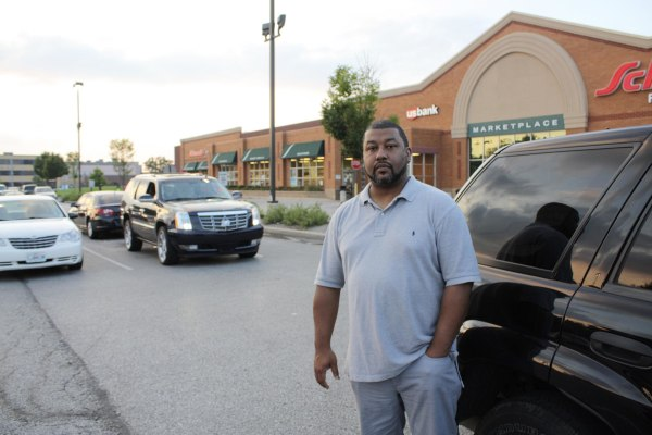 Image: Donnell Johnson, 44, has lived in or near Ferguson since he was 20