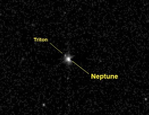 Image: Neptune and Triton