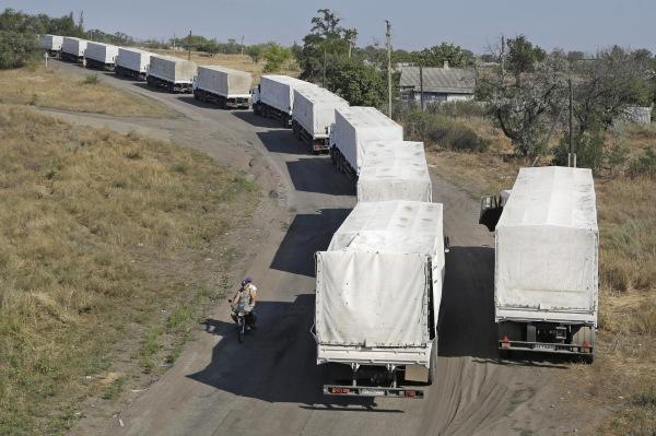 Image: Russia convoy