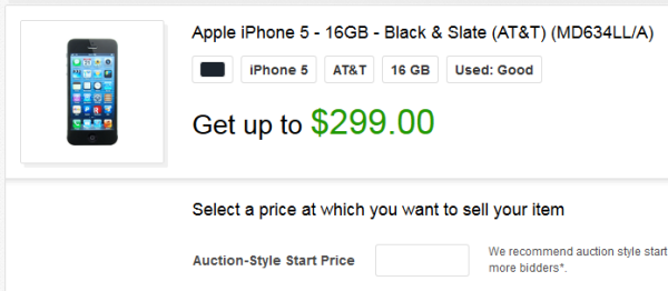 Trade in options for iphone 6