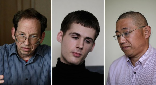 Image: Jeffrey Fowle, Mathew Miller, and Kenneth Bae
