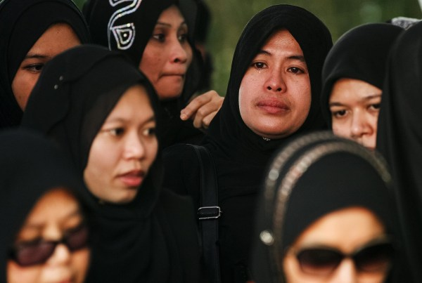 Image: Funeral for MH17 victims in Shah Alam
