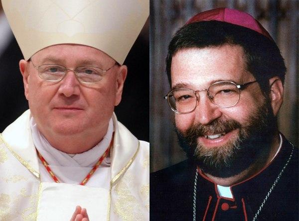 Image: Cardinal Timothy Dolan, Bishop Daniel Jenky