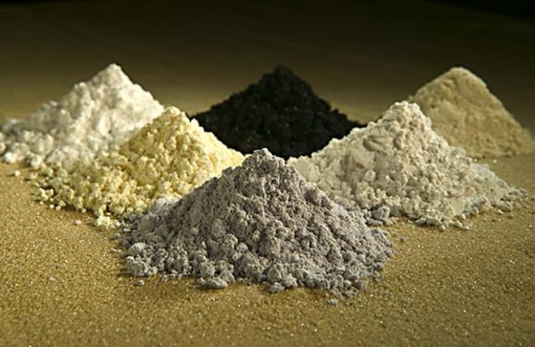 Image: Rare earth minerals