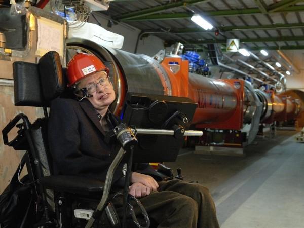 Image: Hawking at LHC