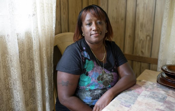 Image: Karen McLeod, 59 of Canton, Ohio, lost her job last September as a re-entry coordinator