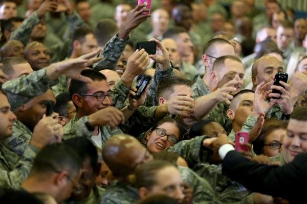 Image: President Obama Speaks At U.S. Central Command At Macdill Air Force Base
