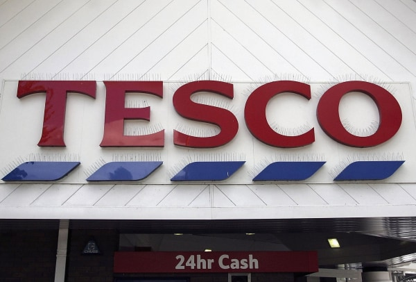 Image: Tesco store in Northwich, England