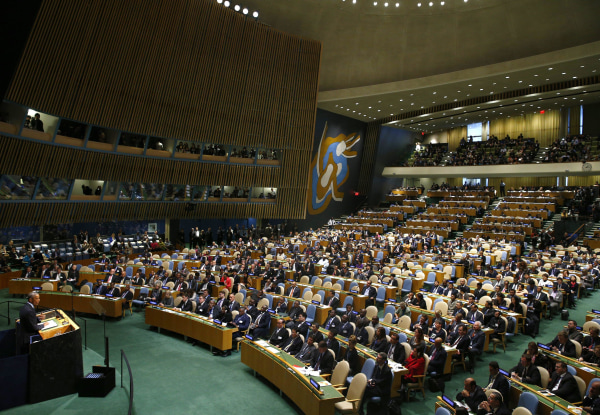 Image: Obama Speaks at United Nations Climate Summit 2014