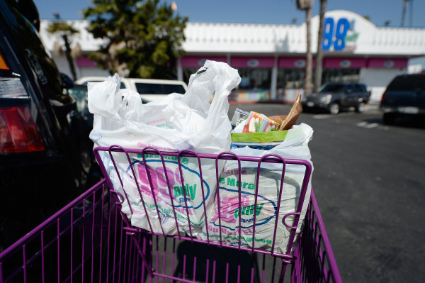 Image: Los Angeles City Council Votes On Plastic Bag Ban