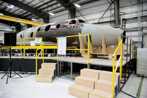 Image: SpaceShipTwo, serial number 2