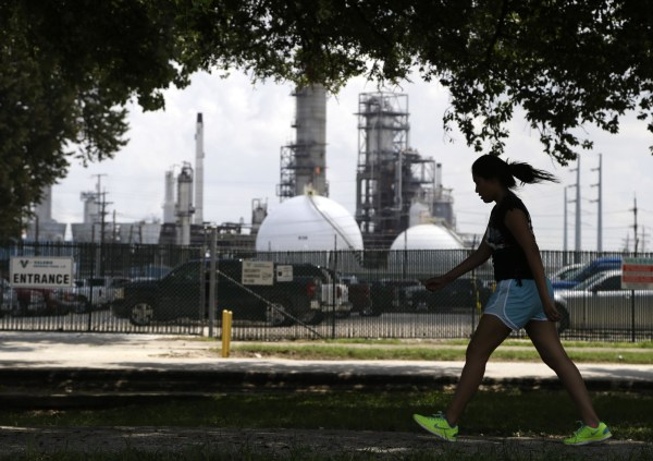 Image: Oil refinery in Houston
