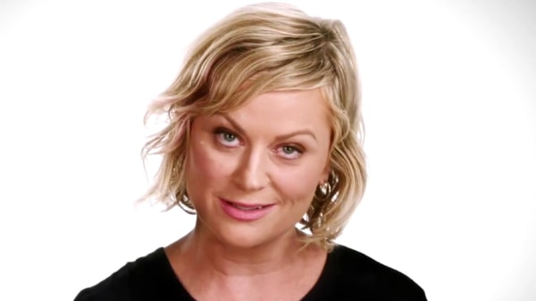 Image: Amy Poehler participates in an NFL campaign against domestic violence.