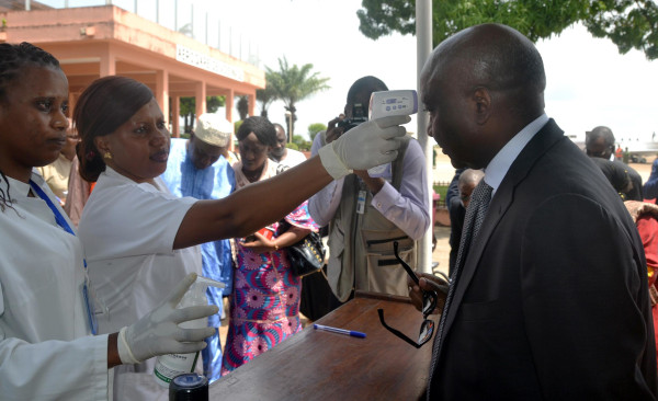 Image: Ebola Workers in Guinea