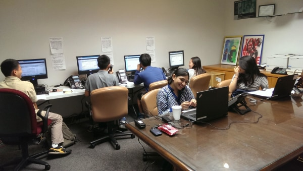 Multilingual phone banks established to aid Asian-American voters