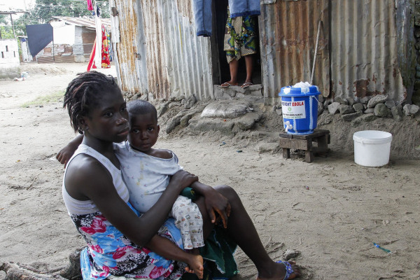 Image: Ebola in Liberia