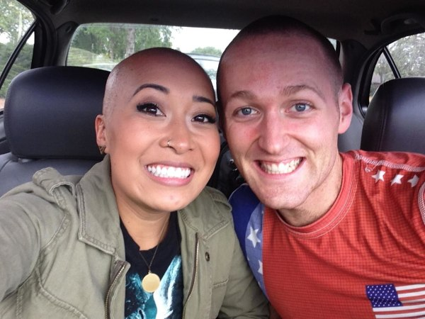 Jackie Nguyen with boyfriend Nate during their trip to Colorado in October, 2014.