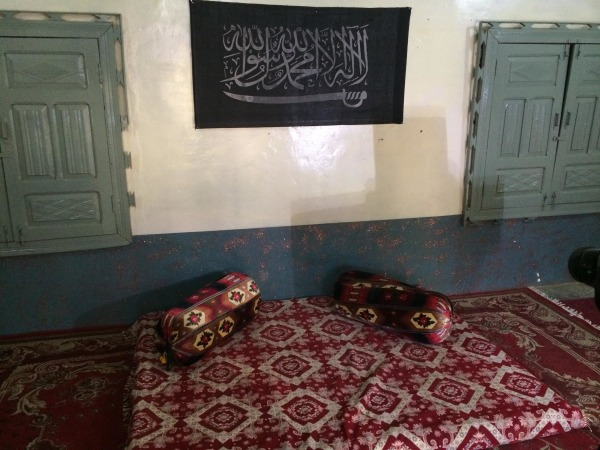 "A room referred to by a Pakistani soldier as the ""suicide studio"""