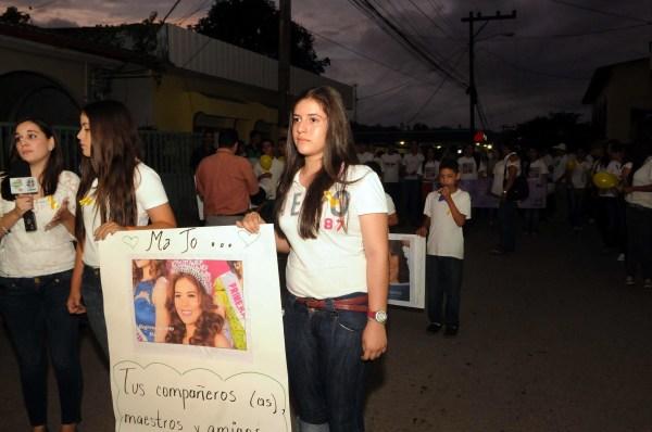 Image: HONDURAS - MISS HONDURAS - MISSING