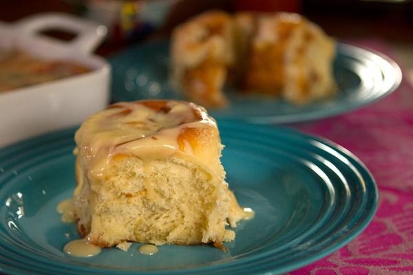 Image: Chef Pati Jinich's dulce de leche and pecan cinnamon rolls.