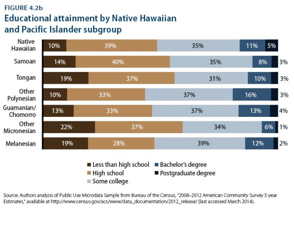 Disaggregated data reveals the educational struggles within smaller sub-groups of Asian America