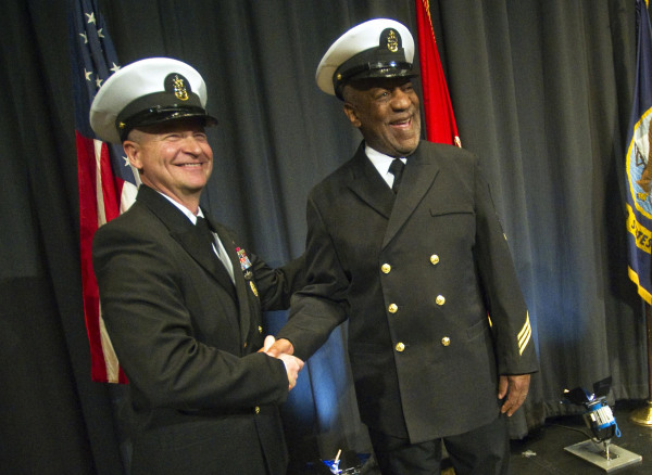 Image: Bill Cosby Given Honorary Navy Rank