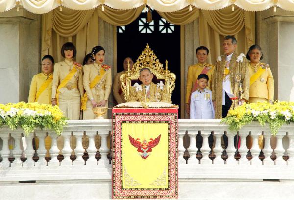 Image: Thai King Bhumibol Adulyadej on his 85th birthday on Dec. 5, 2012