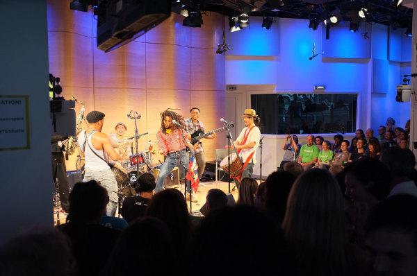 The band's title-winning performance at WNYC's 2012 Battle of the Boroughs.