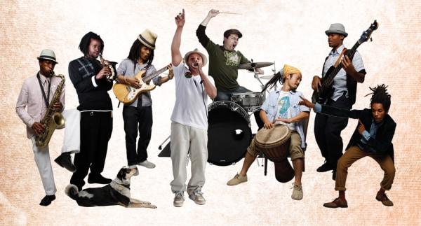The Brown Rice Family is: Okai, Sticky Rice, Yuichi, Tama, Amu, Kaz, Soils, and Isaiah.