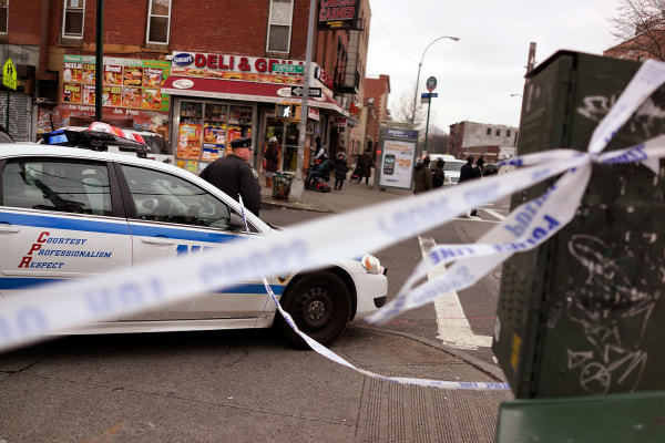 Image: Two Cops Shot And Killed Execution Style In Brooklyn