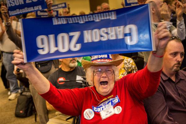 Image: Presidential Hopefuls Address South Carolina Tea Party Convention