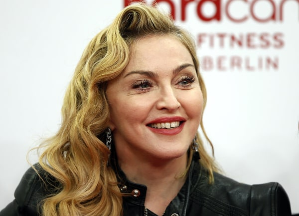 Image: Madonna on Oct. 17, 2013