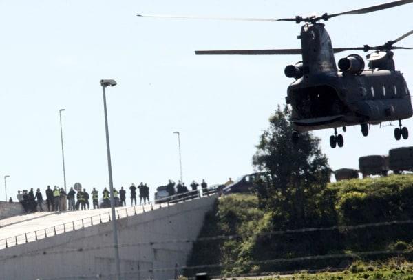 Image: Four alleged jihadists transfered to Madrid