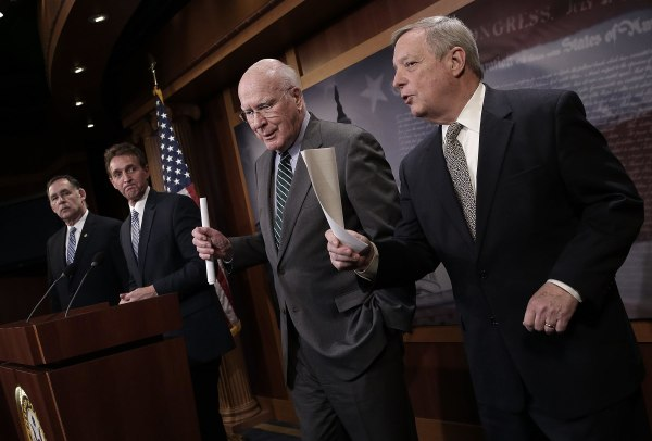 Image: Members Of US Senate Hold News Conference On Cuba