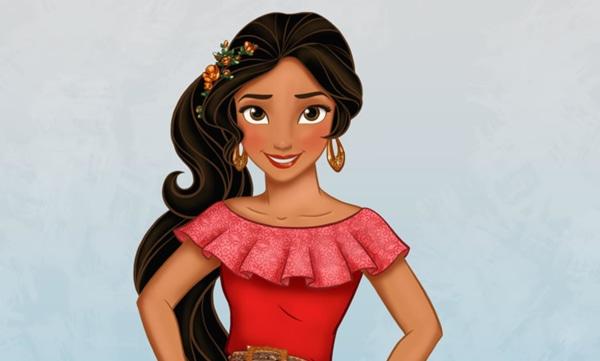 Disney announced a new princess, Elena of Avalor