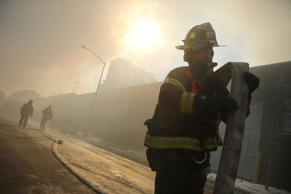 Image: Six-Alarm Fire Rages On Brooklyn's Waterfront