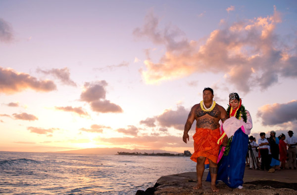 """Maria Yoon's Hawaii """"wedding."""""""