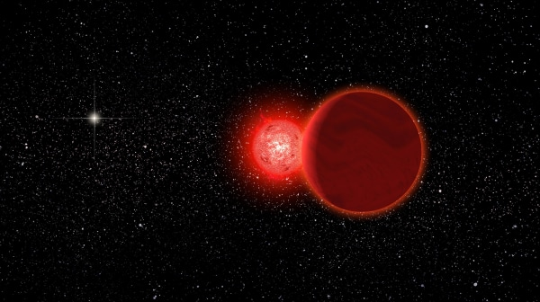Image: Scholz's star