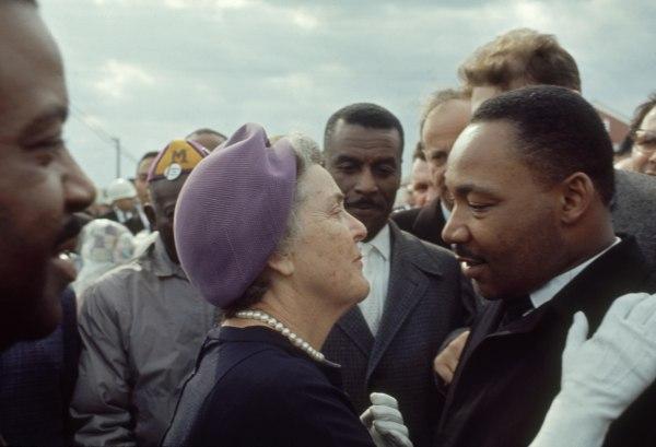 Emily Taft Douglas & MLK