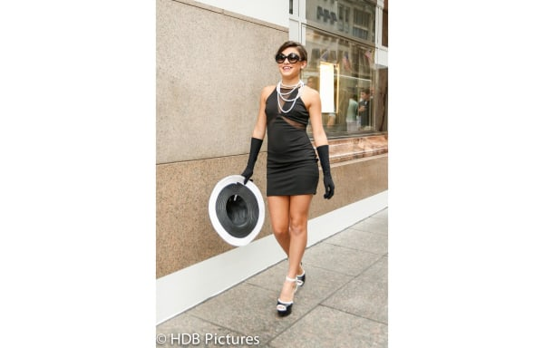 "Image: For Krizia Lanza Franco of Miami, Florida, her ""quinceañera"" celebration involved a photo shoot in New York City."