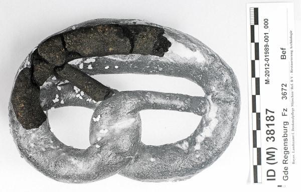 Image: 250-year-old pretzel