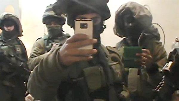Image: Still from video provided by Israeli human rights group B'Tselem