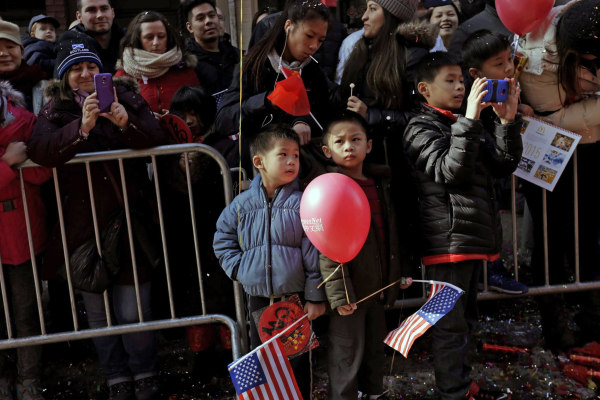Image: New York City Chinese Annual Lunar New Year Parade